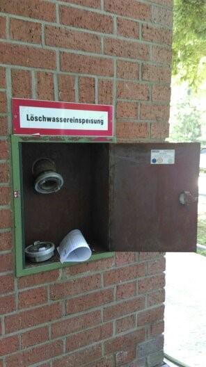 Wandhydrant als Bild auf Homepage von GSS Safety Solutions - Gerd Gruber - Brandschutzbeauftragter aus Abenberg. Aktiv im Großraum Nürnberg / Fürth, Schwabach, Roth, Windsbach, Ansbach, Landkreis Roth